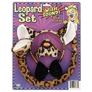Accessories - Leopard Costume Set with Sound